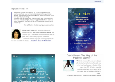 ET 101 Book Author Website