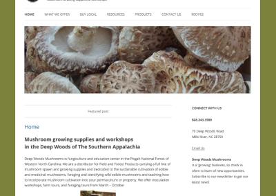 Deep Woods Mushrooms
